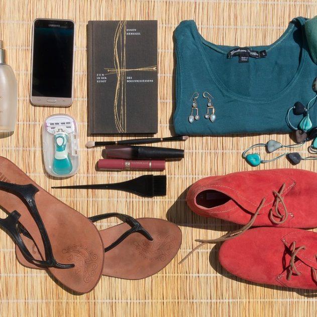 éléments à mettre dans une valise de vacances